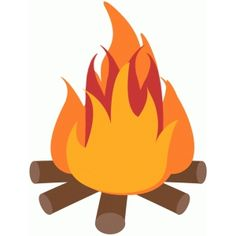 Campfire clipart cute. Black and white camping