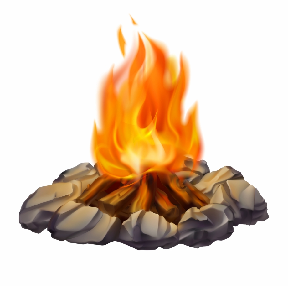 Campfire clipart camp fire. Png transparent background