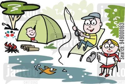 Cartoons humor from jantoo. Camping clipart camping holiday