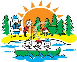 Camp cartoon
