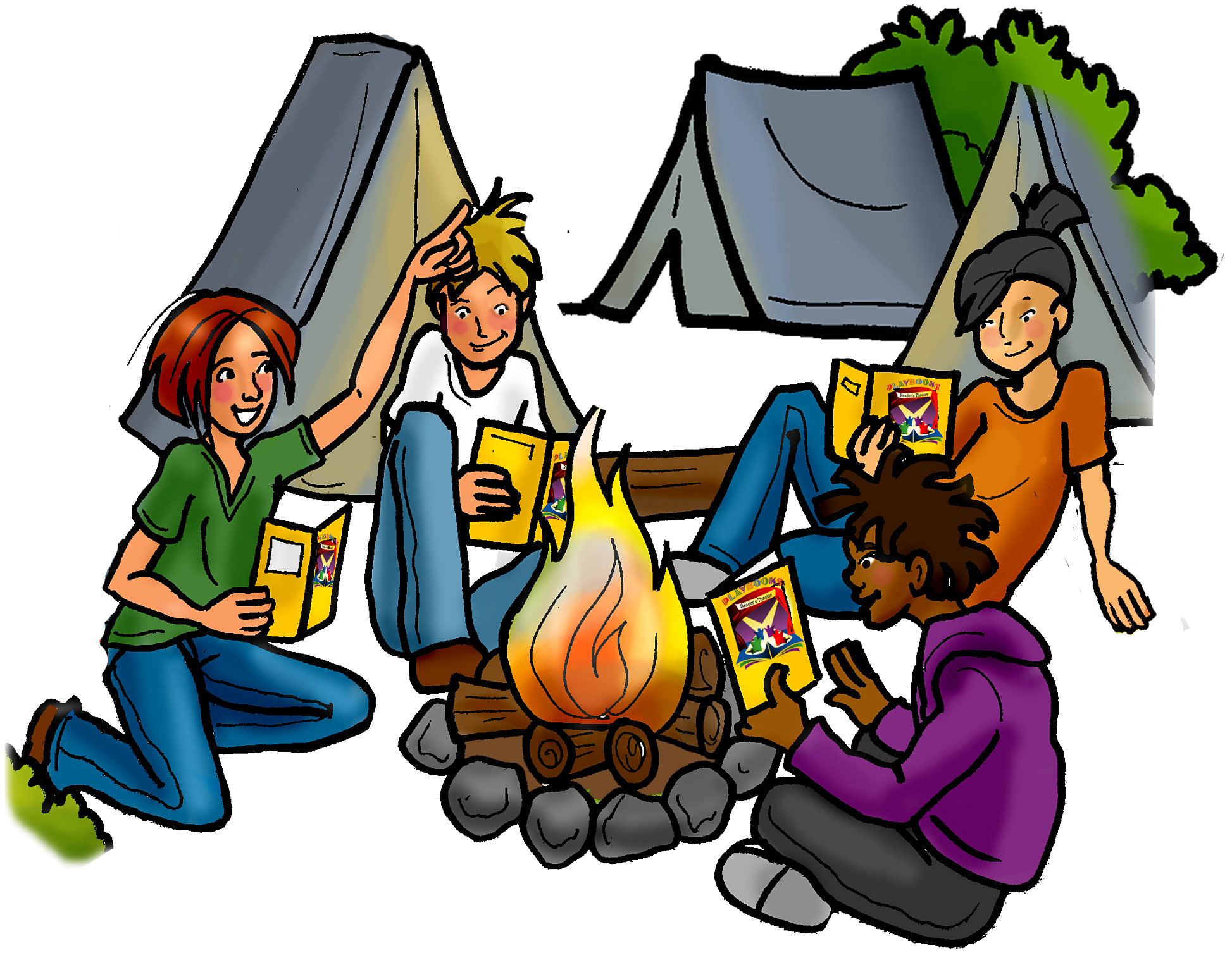 Free funny cliparts download. Camping clipart family camping