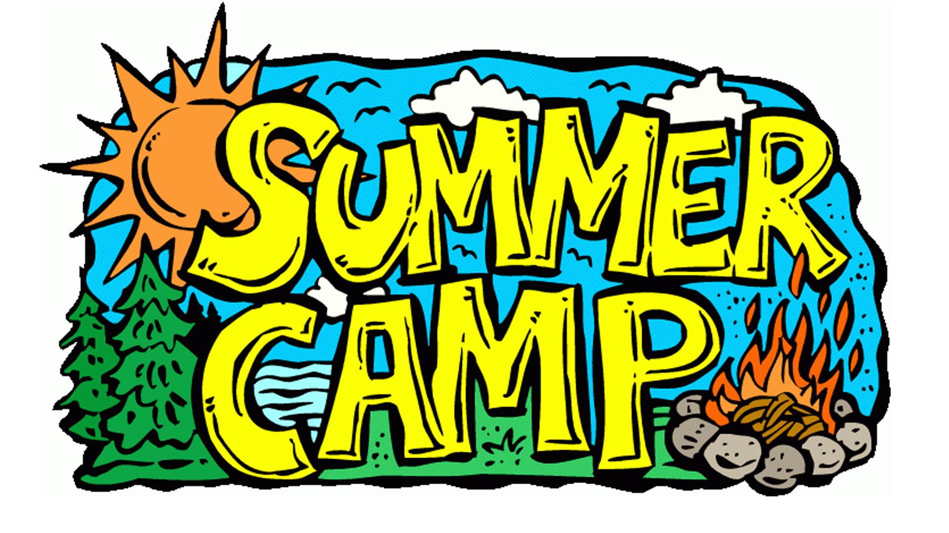 Children s summer the. Camp clipart childrens