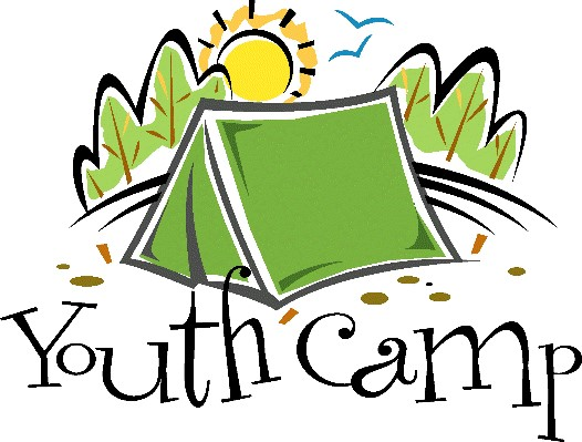 Camp clipart church. Youth children s and