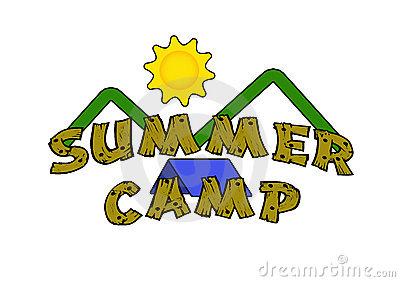 Kids summer panda free. Camp clipart church