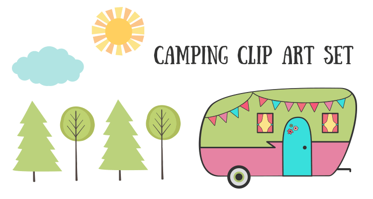 Royalty free images clip. Camping clipart