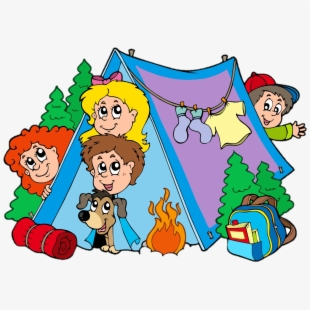 Tent transparent size . Camping clipart family camping