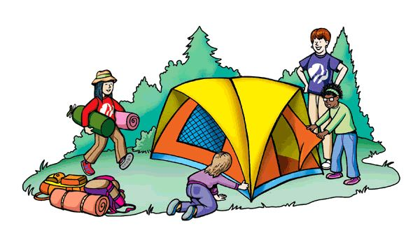 Camping clipart camping holiday.  best girl scout