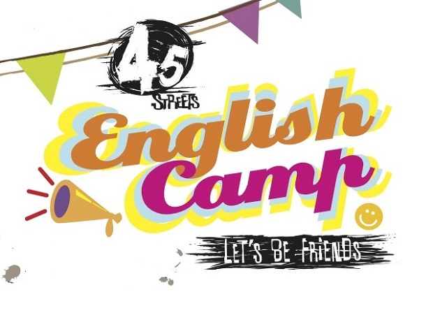 English station . Camp clipart logo