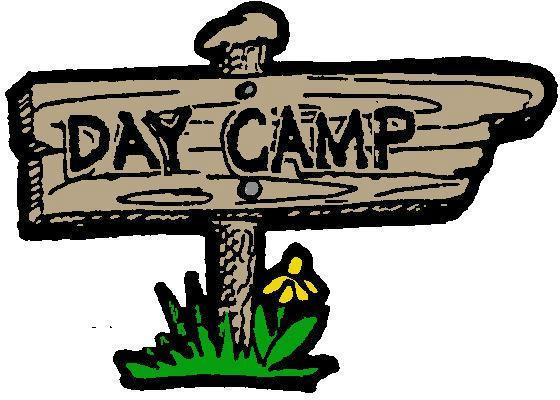 Camp clipart logo. Day sign clip art