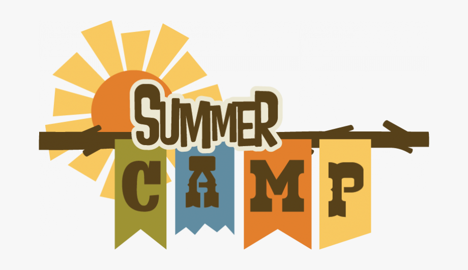 Camp clipart logo. Summer begins free