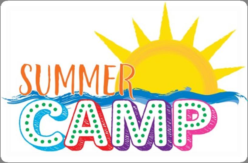 Camp clipart logo. Summer transparent clip art