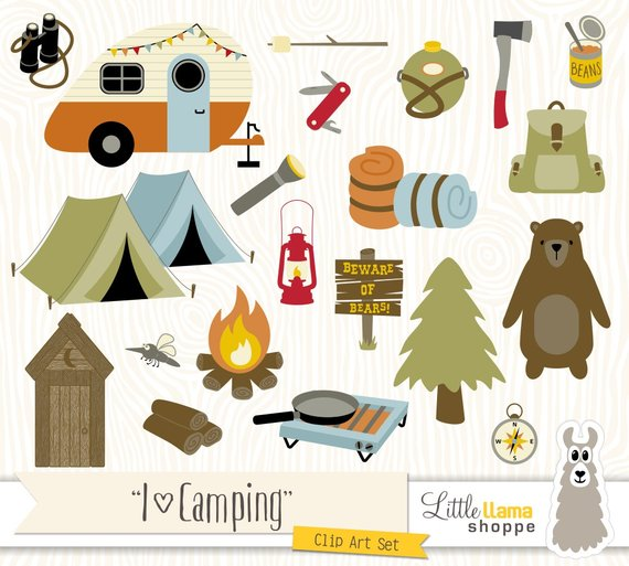 Camping backpacking clip art. Camp clipart outdoors