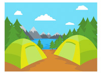 Camp clipart outdoors. Search results for clip