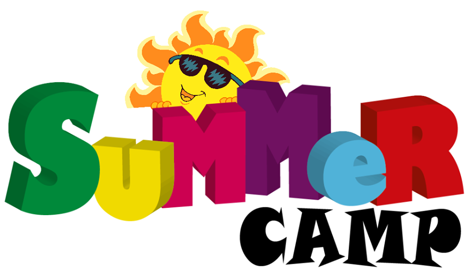Summer happy valley image. Camp clipart school camp