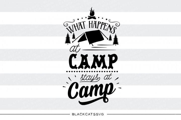 Camp clipart silhouette. What happens at stays