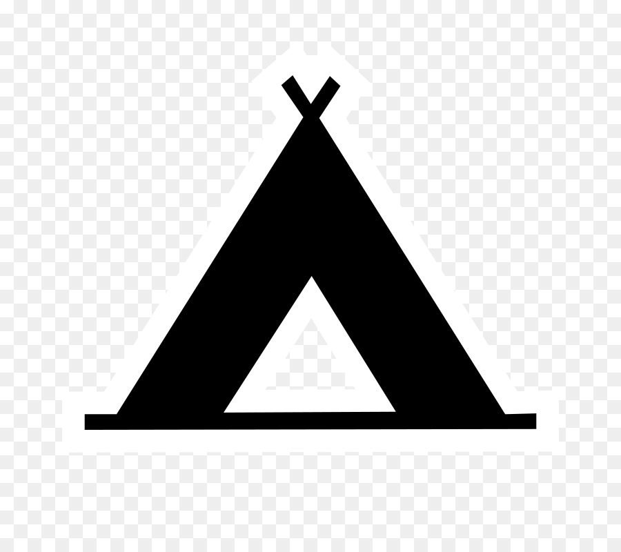 Camp clipart silhouette. Camping campsite tent hiking