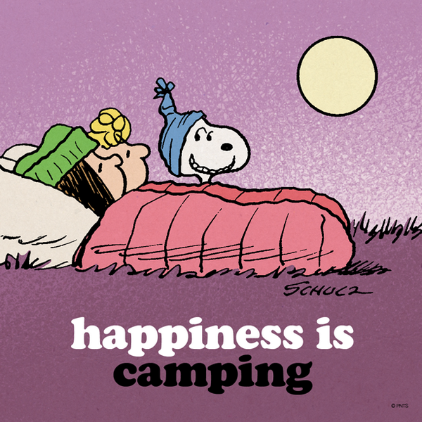 Peanuts on twitter happiness. Camp clipart snoopy