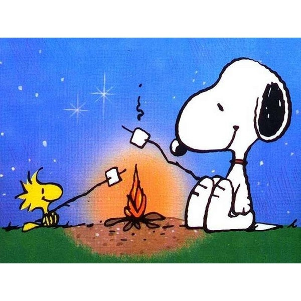 best camping scrapbook. Camp clipart snoopy