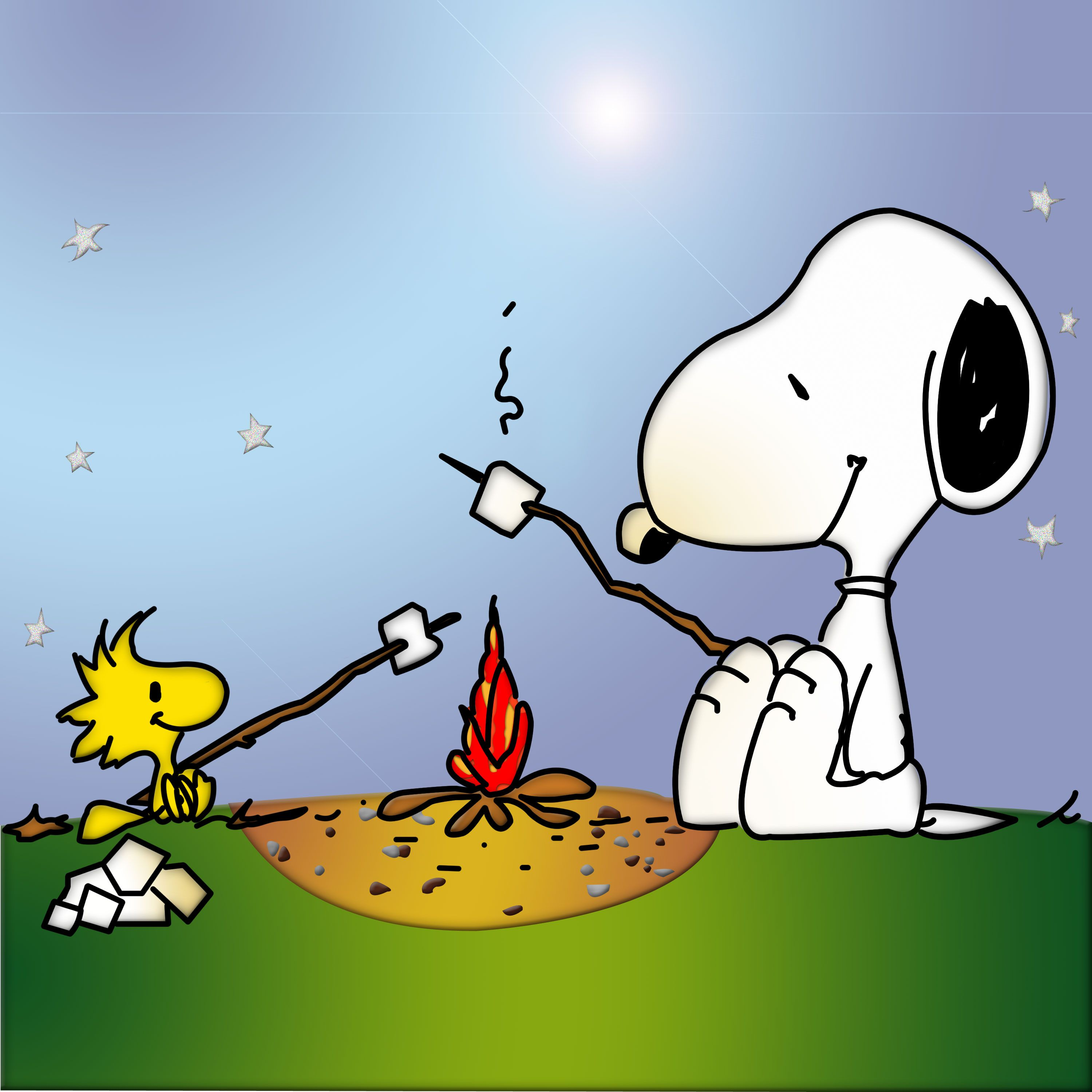 And woodstock by the. Camp clipart snoopy