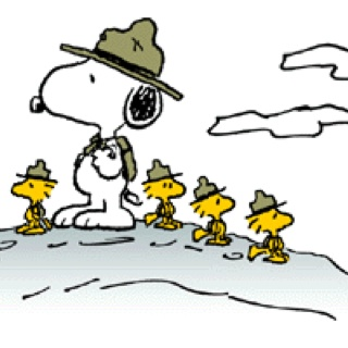 best beaglescout images. Camp clipart snoopy