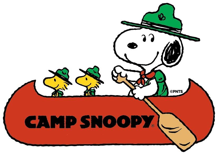 Camp clipart snoopy. The delbert cartoon report