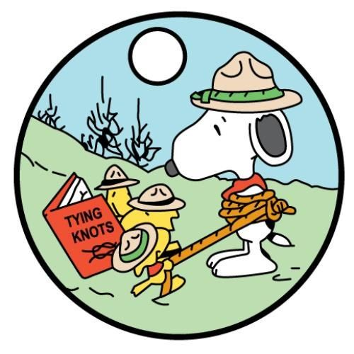Camp clipart snoopy.  best beagle scout