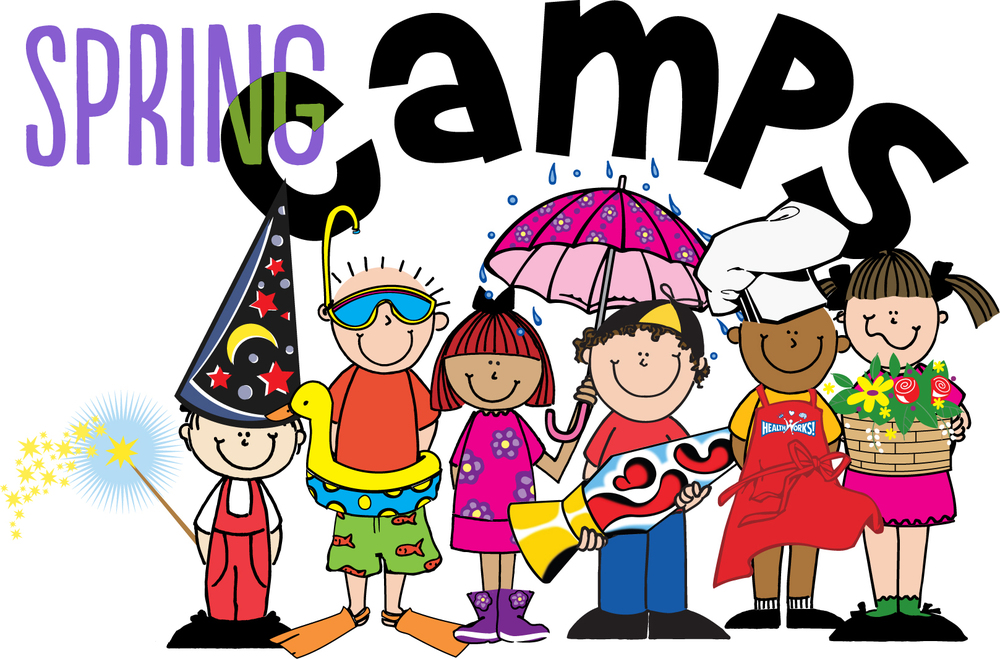 Camp clipart spring. Break camps ronnie s