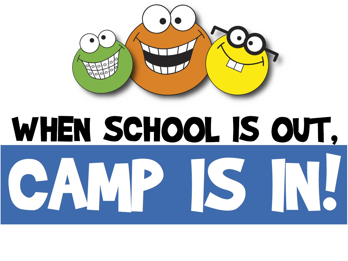 Break school s out. Camp clipart spring