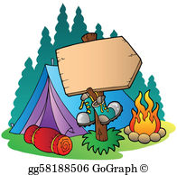 Camp clipart tent. Camping clip art royalty