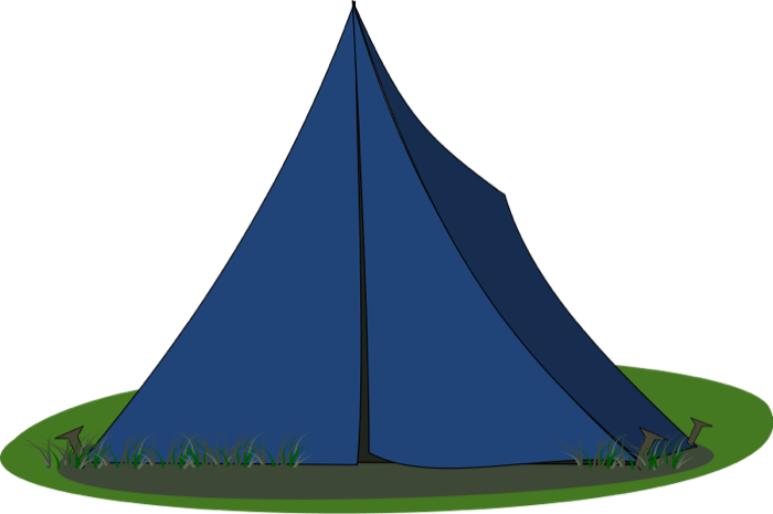 Camp clipart tent. Camping free travel graphics