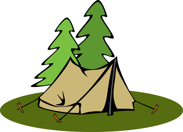 Camp clipart tent. Camping