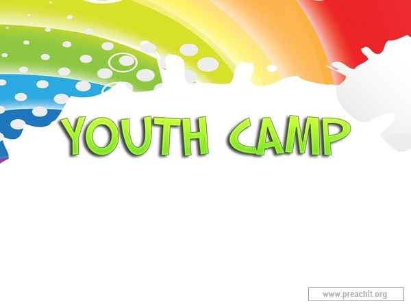 Camp clipart youth camp. Service background for church