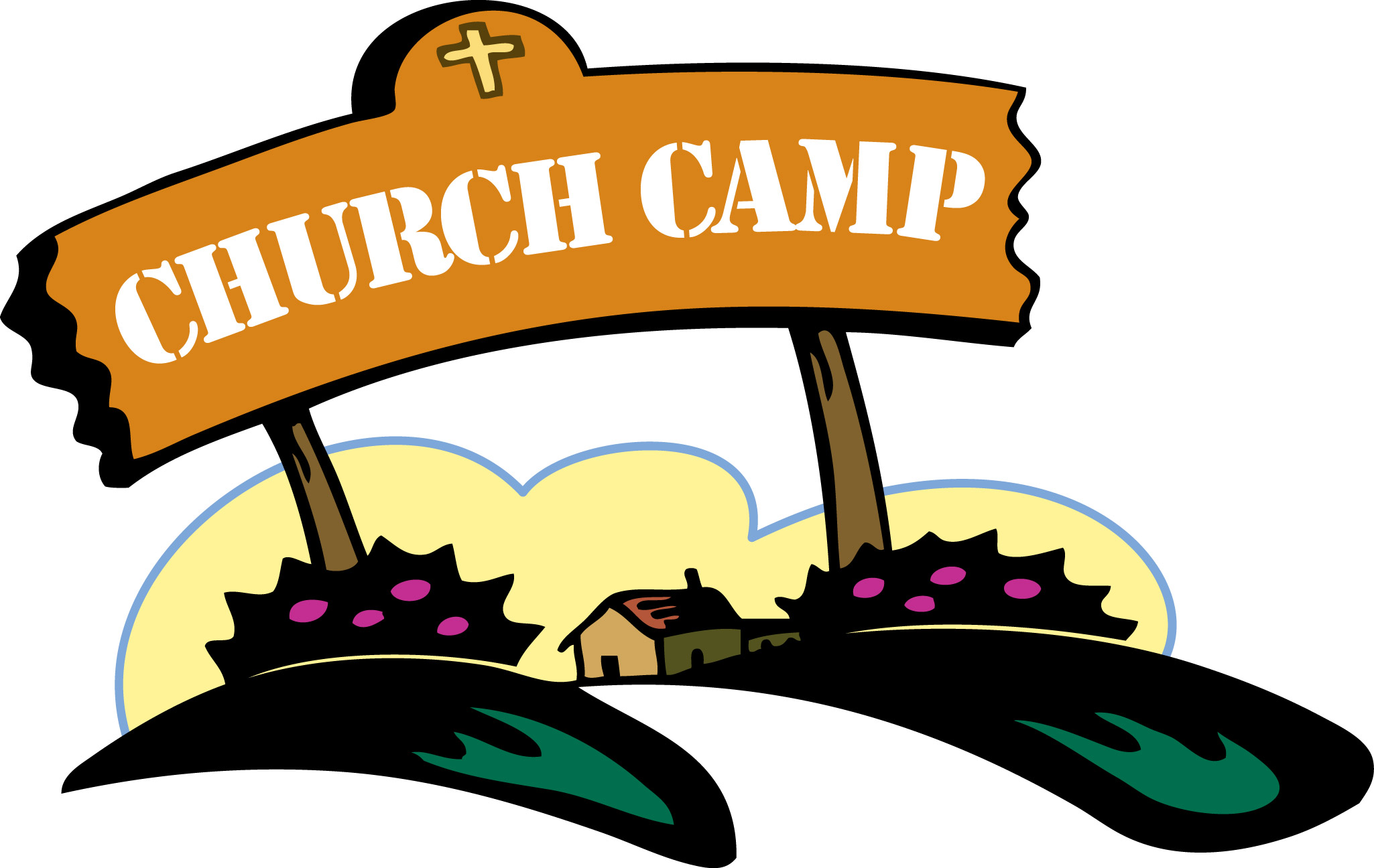 Camp clipart youth camp. Free summer church cliparts