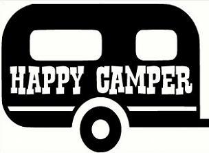 Free trailer. Camper clipart