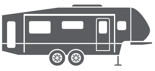 Mackin street customs rv. Camper clipart 5th wheel camper