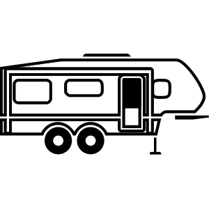 Ewebrenter rv rental software. Camper clipart 5th wheel camper