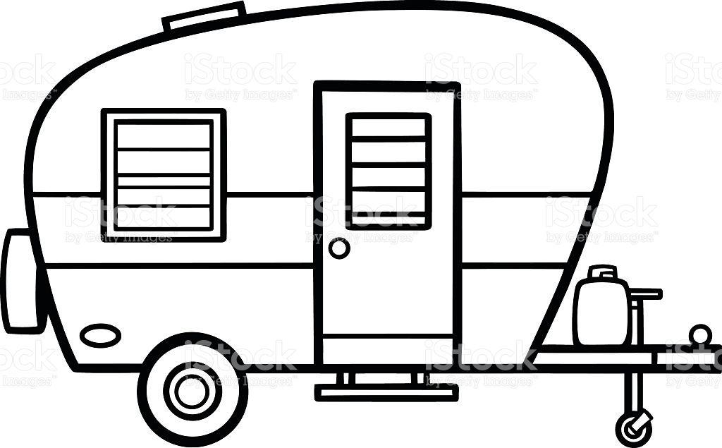 Image result for line. Camper clipart