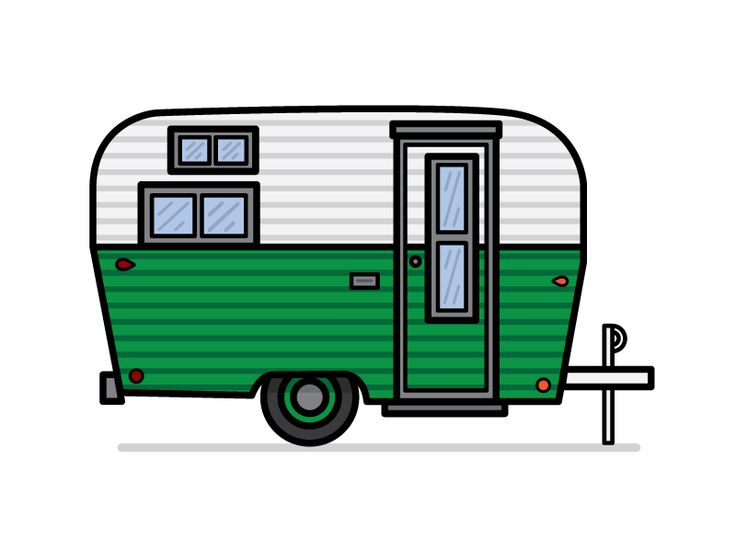 Camper clipart animated.  best images on