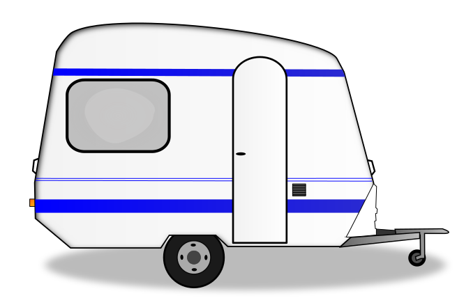 Camper clipart animated. Trailer group park pencil