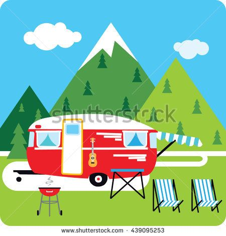 Camper clipart bbq. Pin by jessica hare