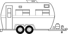 Camper clipart black and white. Image result for camping
