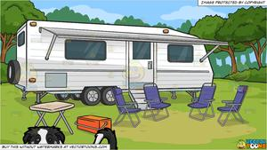 Camper clipart border. A collie puppy stretched