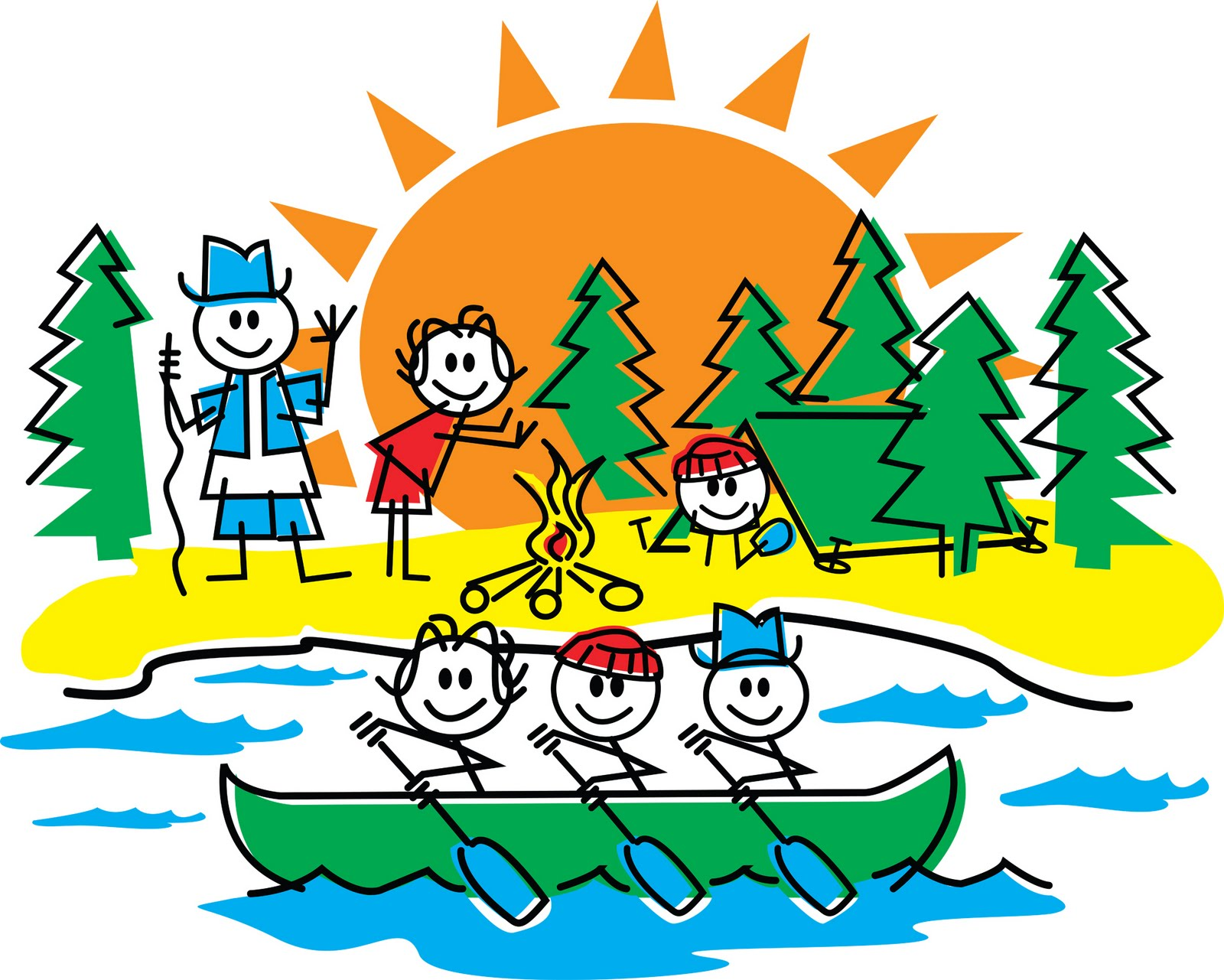 Camper clipart camp counselor. Free cliparts download clip
