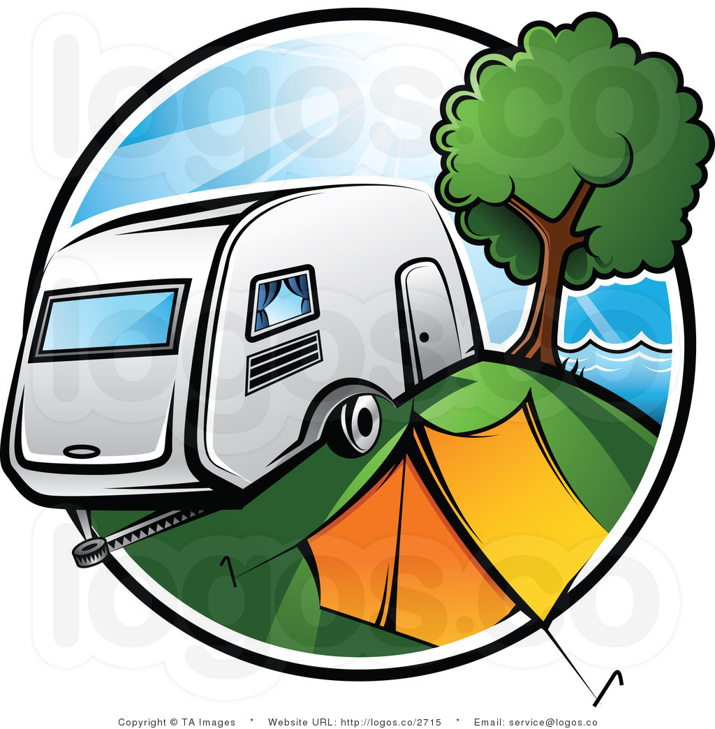 Camper clipart camper airstream. Trailer with awesome style
