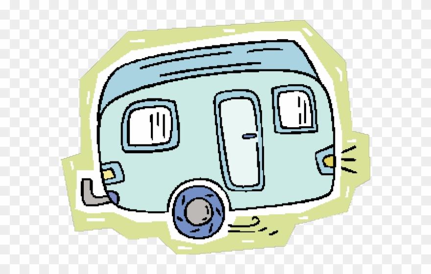 Caravan transparent traveling . Camper clipart camper airstream