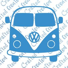Camper clipart campervan. Van vector bundle vw
