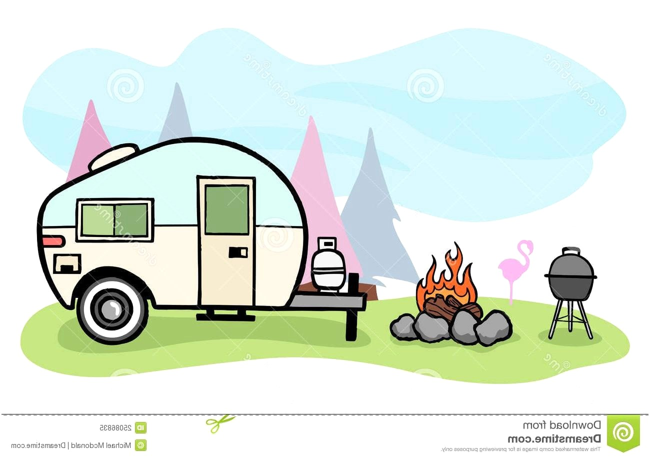 Camper clipart camping. Station
