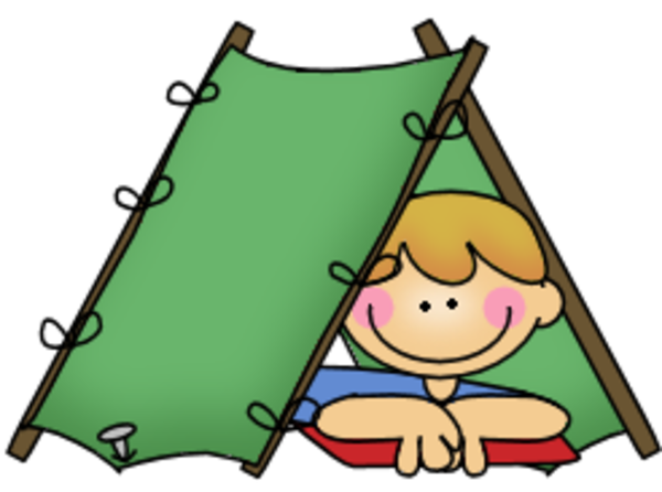 Camper clipart camping theme. Boy free camp out