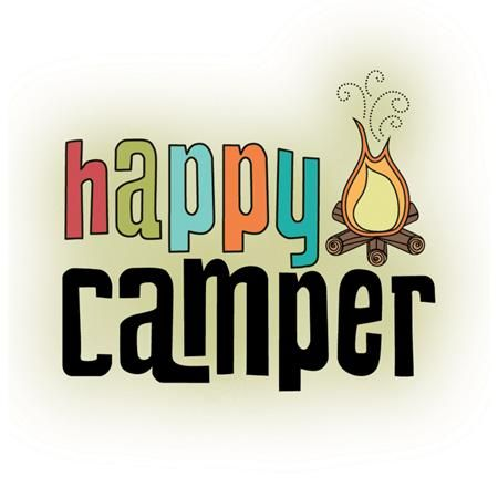 best camp sign. Camper clipart camping theme