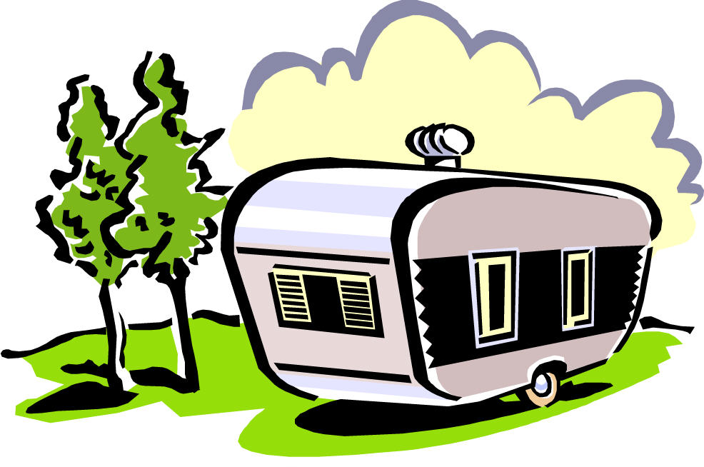 . Camper clipart cartoon